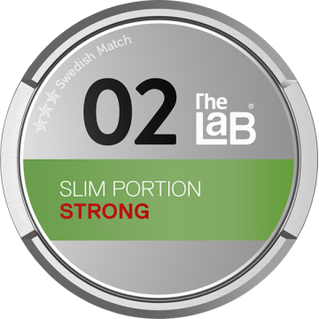 The LaB 02 Slim Strong Portion