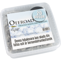 Offroad Frosted White Dry Portion Snussats