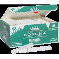 Korona Hylsor Menthol DeLuxe 110
