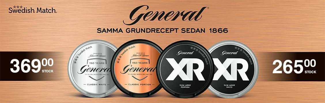 General Portion - General XR White Portion