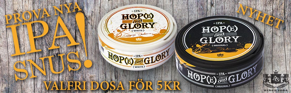 Hope And Glory Portionssnus