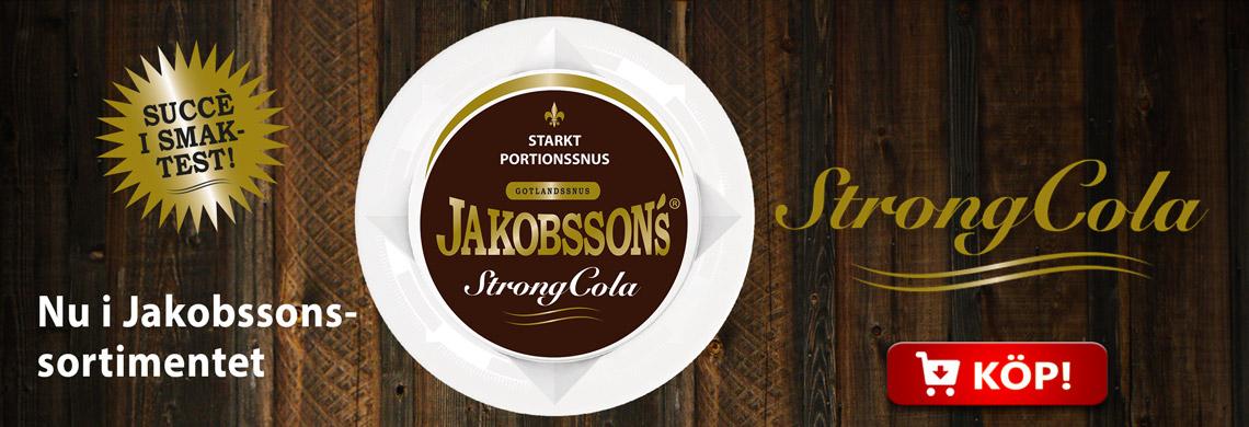 Jakobssons StrongCola - Billigt Snus Online