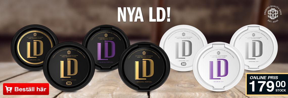 LD Snus - Online Pris - Billigt Snus Online