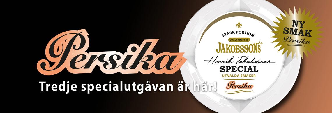 Köp nya Jakobssons Salmiak Stark Portionssnus