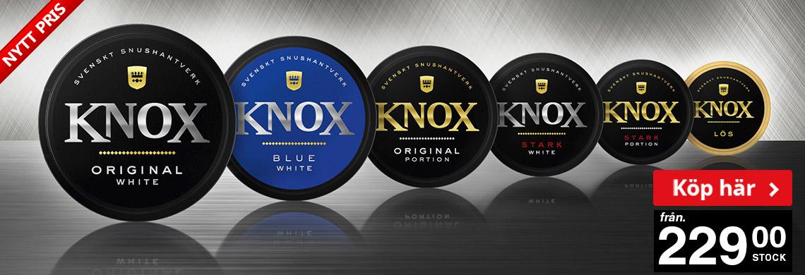 Knox Portionssnus - Online Pris 229 kr