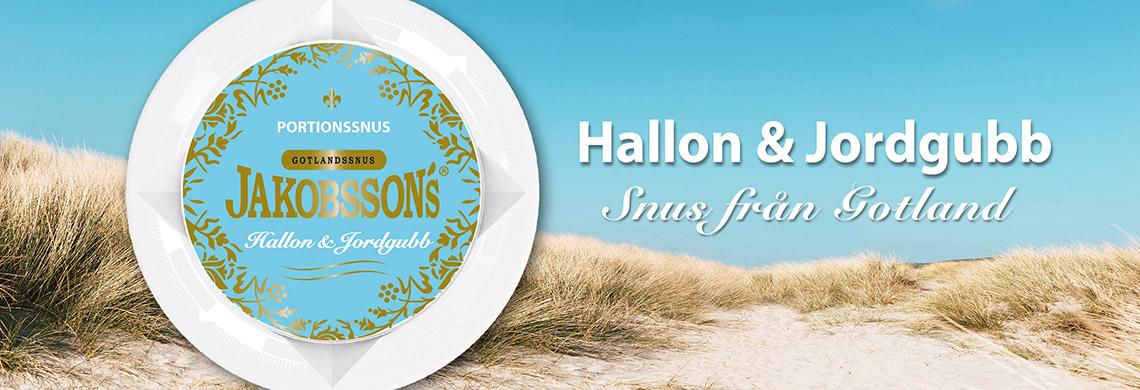 Jakobssons Hallon & Jordgubb SommarSnus - Billigt Snus Online