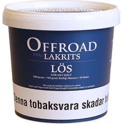 Offroad Lakrits Lös Snussats