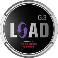 General G3 LOAD Super Strong Slim White Dry Portion