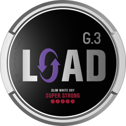G3 LOAD Super Strong Slim White Dry Portion