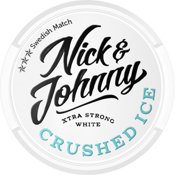 Nick and Johnny Crushed Ice Strong White Portion