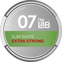 The LaB 07 Slim White Extra Strong Portion