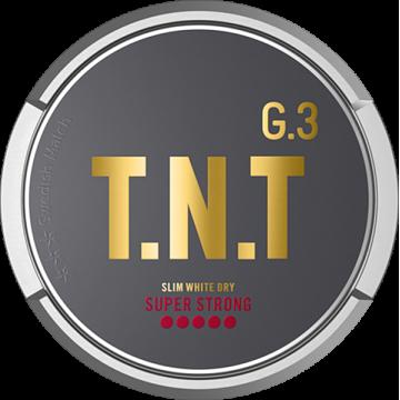 G3 T.N.T Super Strong Slim White Dry Portion