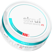 Skruf Super White Fresh Stark Slim