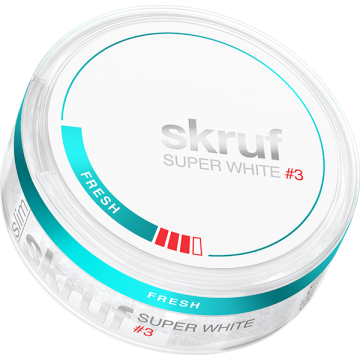 Skruf Super White Fresh Stark Slim