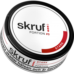 Skruf Stark Portion