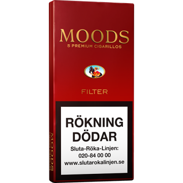 Ritmeester Moods Filter 5p Cigarill