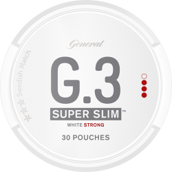 General G3 Super Slim Strong White Portion