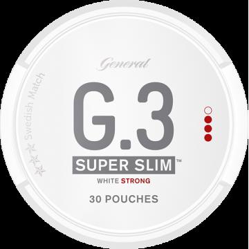 G3 Strong Super Slim White Portion