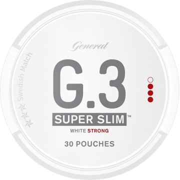 General G3 Strong Super Slim White Portion