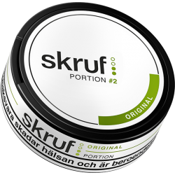 Skruf Original Portion