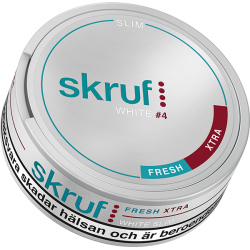 Skruf Slim Fresh Extra Stark White Portion