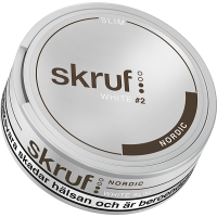 Skruf Nordic Slim White Portion