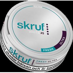 Skruf Slim Fresh Ultra Stark White Portion