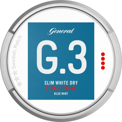 G3 Mint Extra Strong Slim White Dry Portion