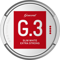 General G3 Extra Strong Slim White Portion