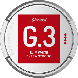 G3 Extra Strong Slim White Portion