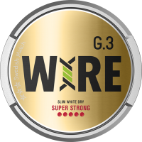 General G3 WIRE Super Strong Slim White Dry Portion