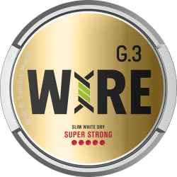 G3 WIRE Super Strong Slim White Dry Portion