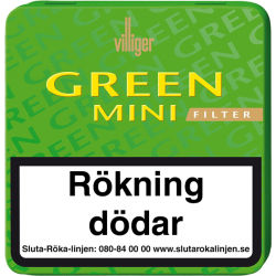 Villiger Green Mini 20p Cigarill