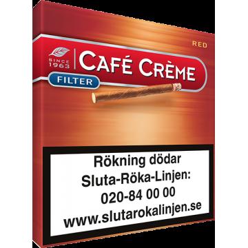 Cafe Creme Filter Red Cigariller