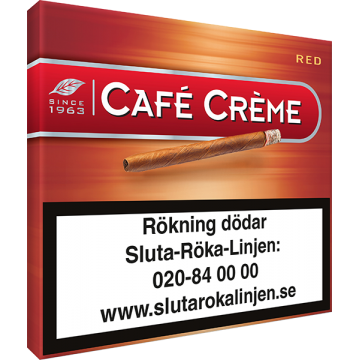 Cafe Creme Red Cigarill