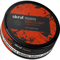 Skruf Nyans Solglimt White Portion