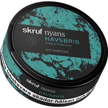 Skruf Nyans Havsbris White Portion