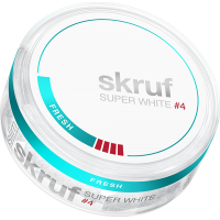 Skruf Super White Slim Fresh X-Stark