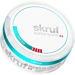Skruf Super White Fresh X-Stark Slim