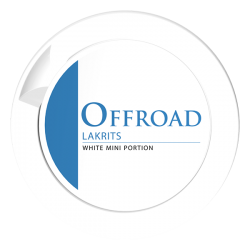 Offroad Mini Lakrits White Portion
