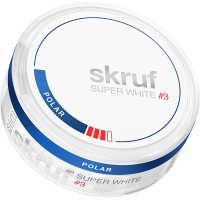Skruf Super White Slim Polar Stark