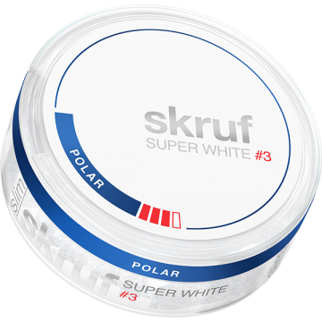 Skruf Super White Polar Stark Slim