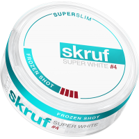 Skruf Super White Frozen Shot X-Stark Superslim