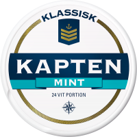 Kapten Mint Vit Portion