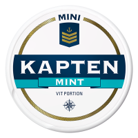 Kapten Mini Mint Vit Portion
