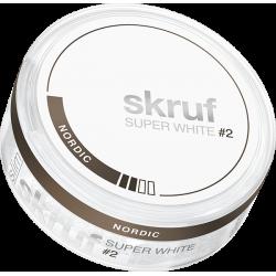 Skruf Super White Slim Nordic