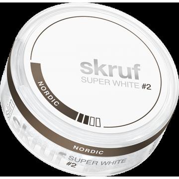 Skruf Super White Nordic Slim