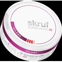 Skruf Super White Solbär Stark Slim