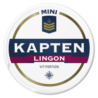 Kapten Mini Lingon Vit Portion