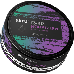 Skruf Nyans Norrsken White Portion